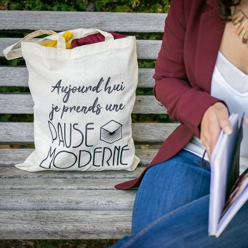 Pause Moderne - Lifestyle Tote bag