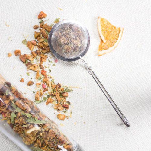 Pack Fruité #1 | 4 infusions et tisanes gourmandes | Boule à thé