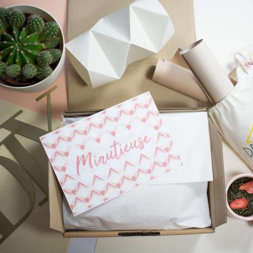 Box origami du mois de février