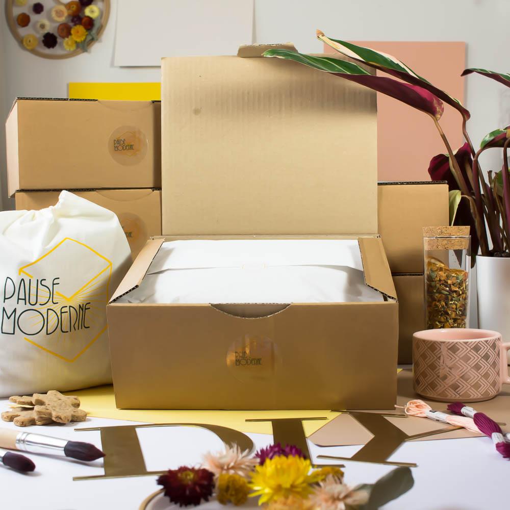 Pause moderne - abonnement box creative et gourmande