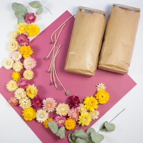 """Box spéciale """"Bougies fleuries XXL"""""""