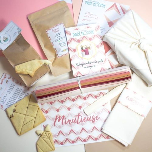 Pause Moderne - Box Minutieuse Biscuit origami