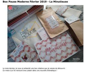 PAUSE MODERNE - Article bulles de plumes