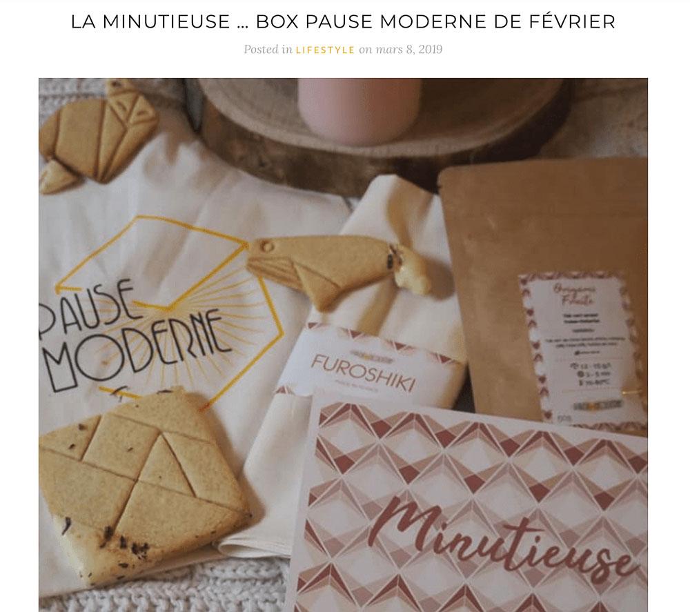 PAUSE MODERNE - article presse blog maman pouponne papa bricole _