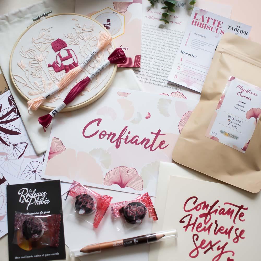 PAUSE MODERNE - contenu box confiante box femme_