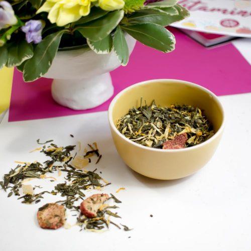 Thé vert – Couleurs Estivales