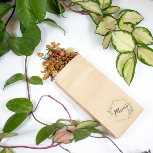 Cadeau invité : Sachet à thé