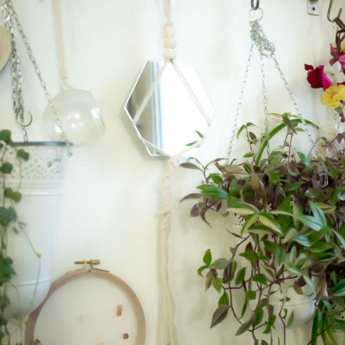 Kit DIY – Créer son miroir en macramé