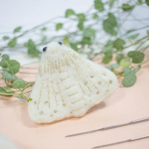 Kit Réaliser une broche feutrée – Jennifer de My Little Print Fabrics