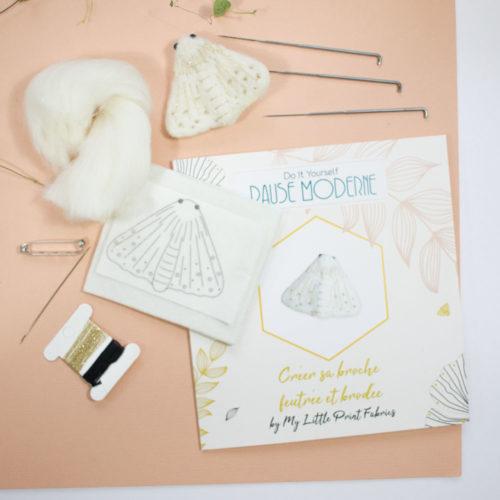 Kit DIY – Réaliser une broche feutrée