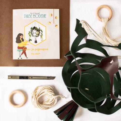 Kit DIY – Réaliser sa suspension en cuir