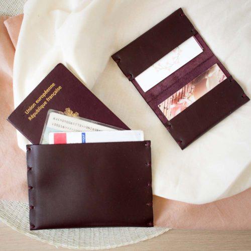 Kit DIY – Créer son duo de portes cartes en cuir