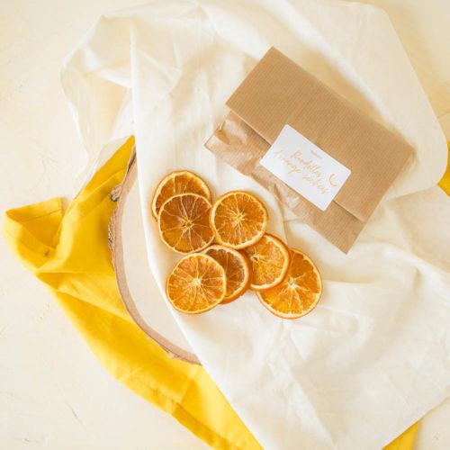 Rondelles Oranges séchées