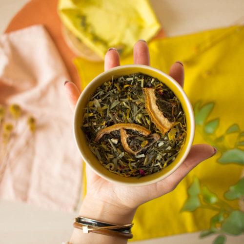 Thé vert citron miel – Authentique Douceur