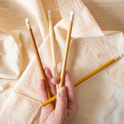 Assortiment de 4 crayons à papier – Rico Design