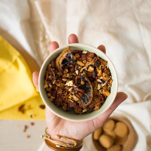 Infusion saveur gâteau aux pommes – Bonheur paisible