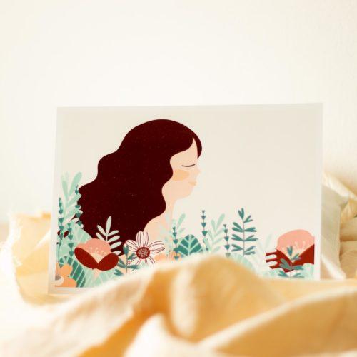 Carte de décoration & cadeau