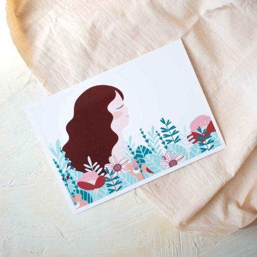 Carte de décoration ou cadeau