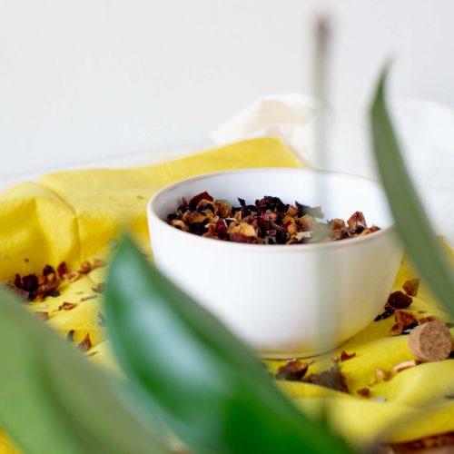 Infusion Myrtille crème – Surprenante Harmonie