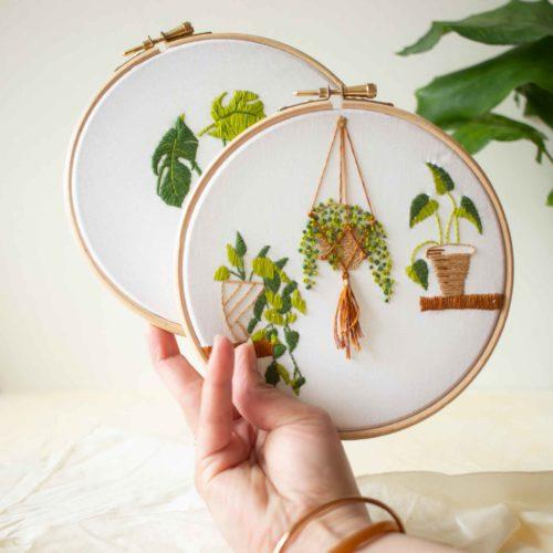 PAUSE MODERNE - Kit broderie plante (1 sur 1)-5