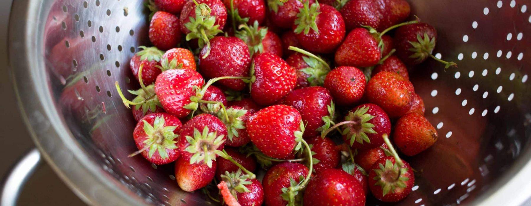 Pause Moderne -Box creative et gourmande Article blog -Conserver des fraises
