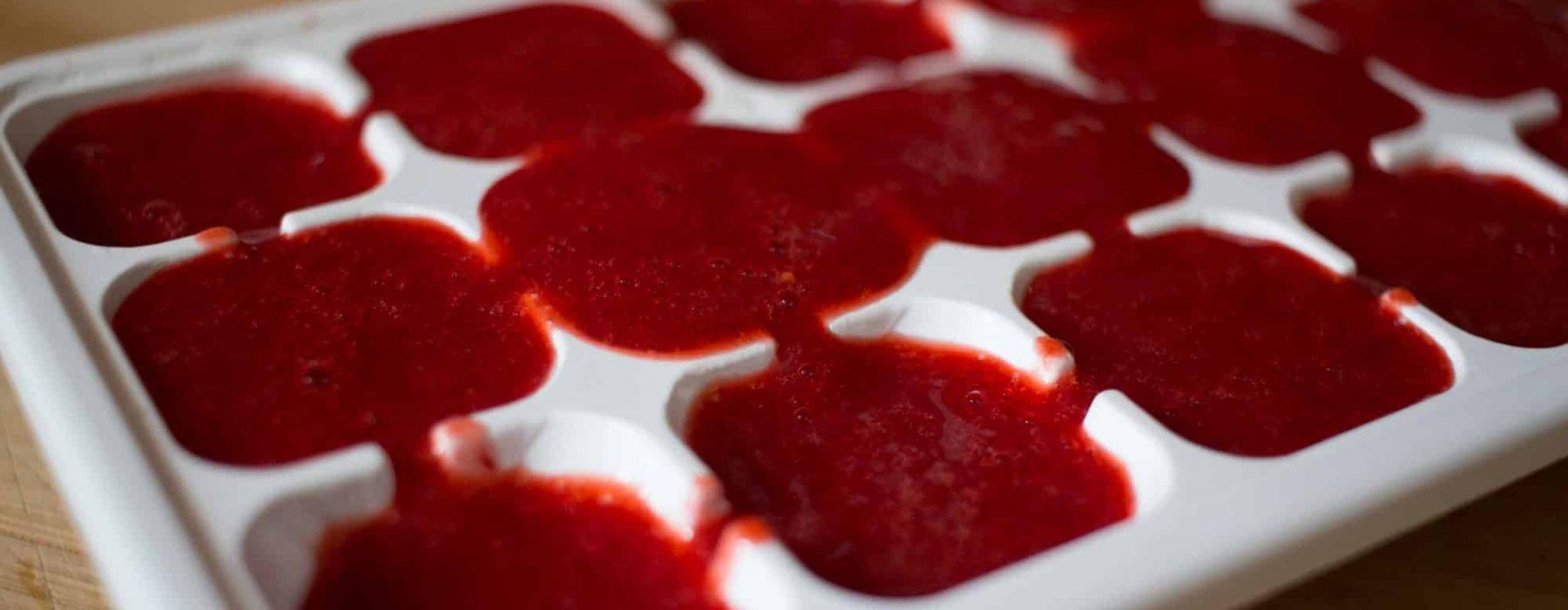 Pause Moderne -Box creative et gourmande Article blog -Des glaçons de fraises