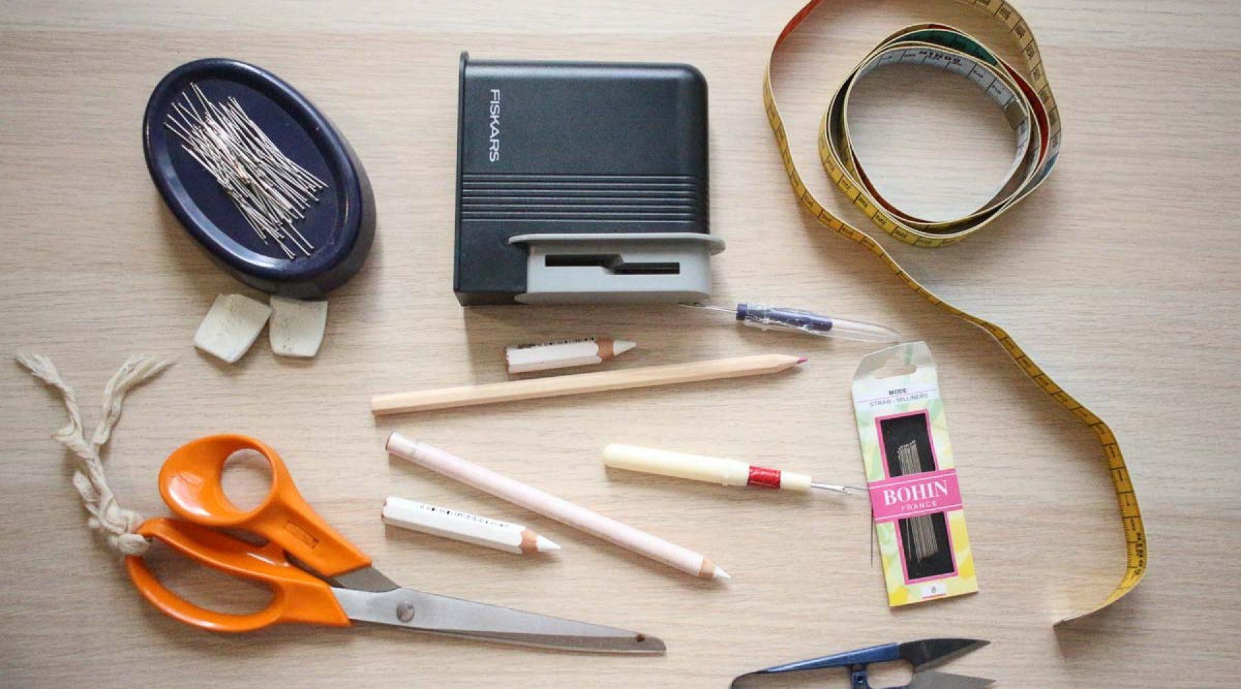 Pause Moderne -Box creative et gourmande Article blog -Materiel couture diy